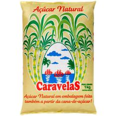 Açúcar Natural Caravelas 1kg