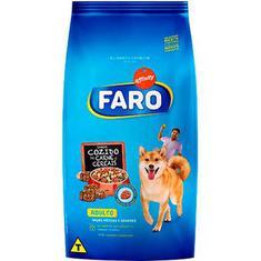 Ração para Cães Raças Médias Cozido de Carne e Cereais Faro 10,1kg