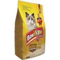 Areia Higiênica Para Gatos Baw Waw 4kg