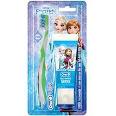 Escova Dental Oral B Stages Frozen + Creme Dental 75ml