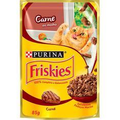 Alimento para Gatos Carne Ao Molho Friskies 85g
