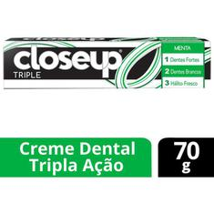 Creme Dental Triple Menta Close Up 70g