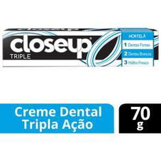 Creme Dental Triple Hortelã Close Up 70g