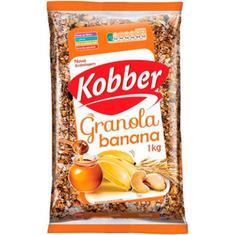 Granola com Banana e Mel Kobber 1kg