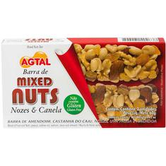 Barra de Cereal Mixed Nuts Nozes e Canela Agtal 2X30g