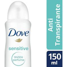 Desodorante Aerossol Sensitive Dove 89g
