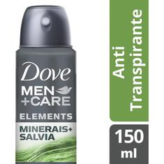 Desodorante Aerossol Men Care Minerais + Sálvia Dove 89g