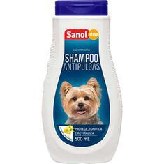 Shampoo Antipulgas Dog Sanol 500ml