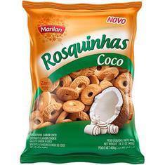 Biscoito Rosquinha Coco Marilan 400g