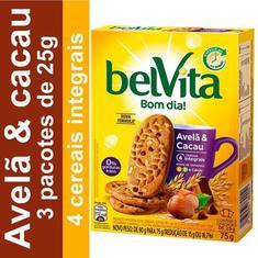 Biscoito Sabor Avelã e Cacau Belvita 75g