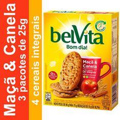 Biscoito Sabor Maçã e Canela Belvita 75g