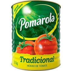 Molho de Tomate Tradicional Pomarola 3,1kg