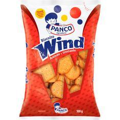Biscoito Salgado Wind Panco 500g