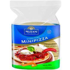 Massa para Mini Pizza Mezzani 400g