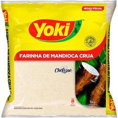 Farinha de Mandioca Crua Yoki 5kg