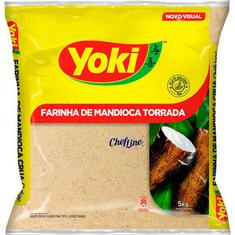 Farinha de Mandioca Torrada Yoki 5Kg