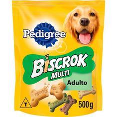 Biscoito para Cães Biscrock Multi Pedigree 500g