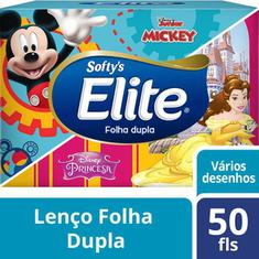 Lenço de Papel Softys Kids 50un