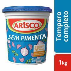 Tempero Completo Sem Pimenta Arisco 1kg