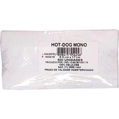 Saco para Hot Dog Branco Magia 500un