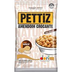 Amendoim Crocante Natural Pettiz Dori 1,010kg