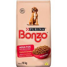 Ração para Cães Sabor Carne e Cereais Bonzo 18Kg