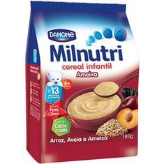 Cereal Infantil de Aveia e Ameixa Milnutri Danone 180g