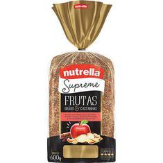Pão de Forma Supreme Frutas Nutrella 600g