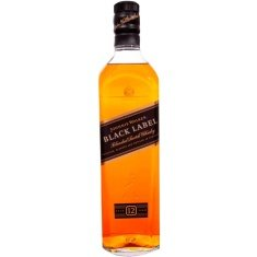 Whisky Escocês Black Label Johnnie Walker 750ml