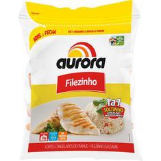 Filezinho de Frango IQF Aurora 3kg