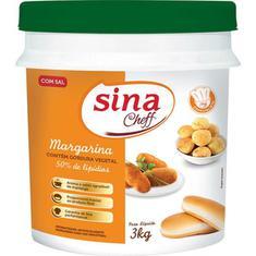 Margarina 50% Lipídios com Sal Sina 3kg