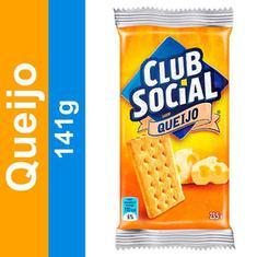 Biscoito Salgado Sabor Queijo Club Social 141g