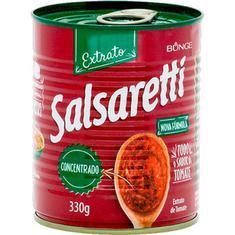 Extrato de Tomate Tradicional Salsaretti 330g