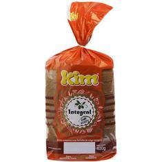 Pão 100% Integral com Azeite Kim 400g
