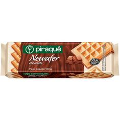 Biscoito Wafer Sabor Chocolate Newafer Piraquê 100g