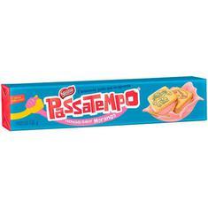 Biscoito Recheado Sabor Morango Passatempo Nestlé 130g