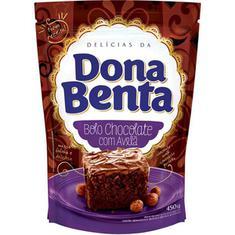 Mistura para Bolo Sabor Chocolate e Avelã Dona Benta 450g