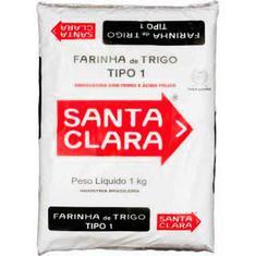 Farinha de Trigo Santa Clara 1kg