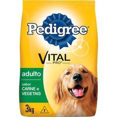Ração para Cães Carne e Vegetais Pedigree 3Kg