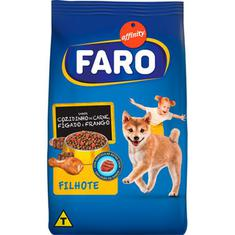Alimento para Cães Filhotes sabor Cozidinho de Carne Fígado e Frango Faro 2kg