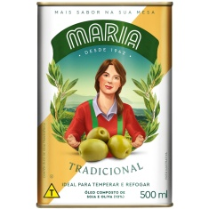 Óleo Composto Tradicional Maria 500ml