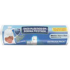 Bobina Picotada Extrusa 100un. 30x38cm