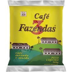 Café Almofada Tradicional 3 Fazendas 500g