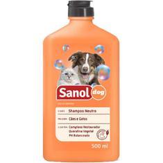 Shampoo Neutro Sanol Dog 500ml