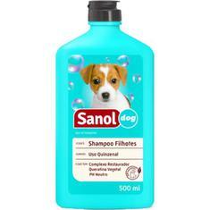 Shampoo para Filhotes Sanol Dog 500ml