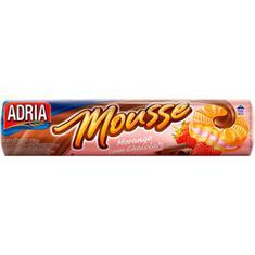 Biscoito Recheado Mousse de Morango com Chocolate Adria 150g