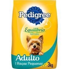 Alimento para Cães Adulto Raças Pequenas Equilíbrio Natural Pedigree 3kg