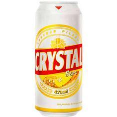 Cerveja Pilsen Crystal 473ml