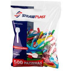 Pazinha para Sorvete Sortida PSM-912 Strawplast 500un