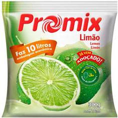 Refresco em Pó Sabor Limão Promix 300g